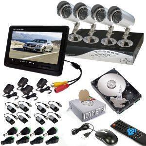 Area Kit DVR - Installare un impianto di videosorveglianza: quanto è utile?